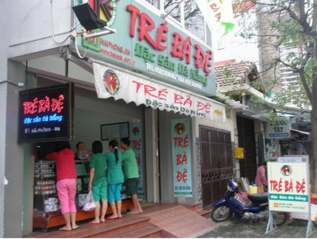 Đặc sản tré Bà Đệ Đà Nẵng