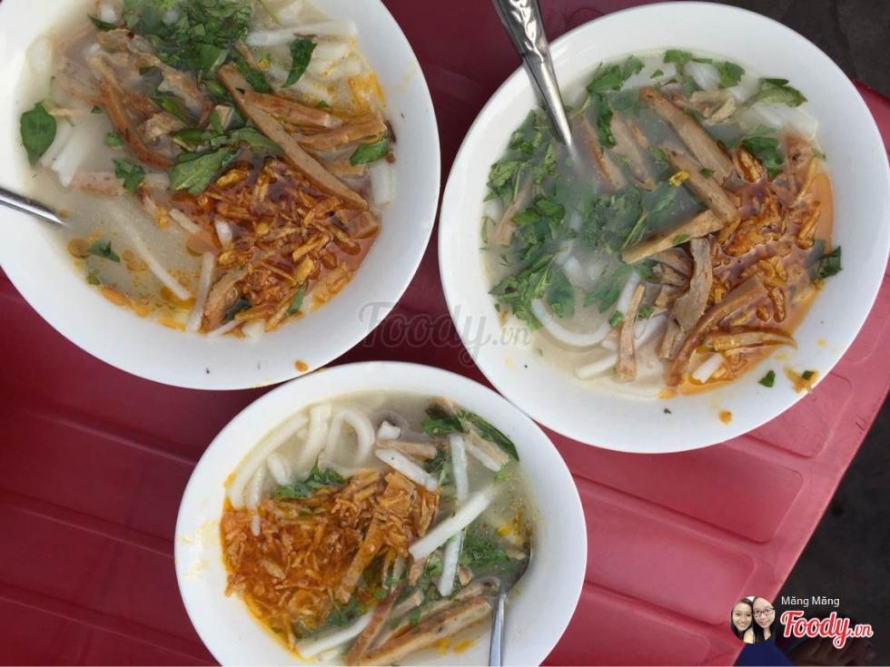 Bánh canh cá nướng Đà Nẵng