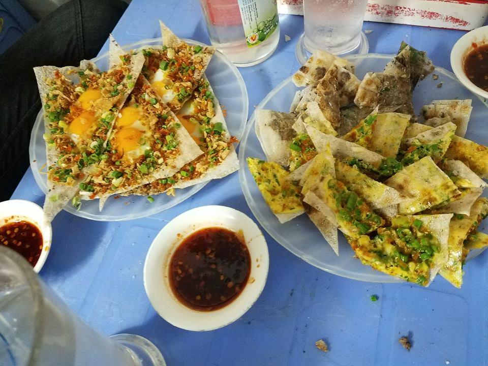 Bánh tráng kẹp Dì Vân Đà Nẵng
