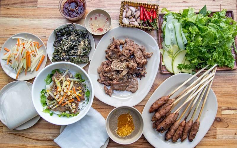Bún thịt nướng Bình Minh Đà Nẵng