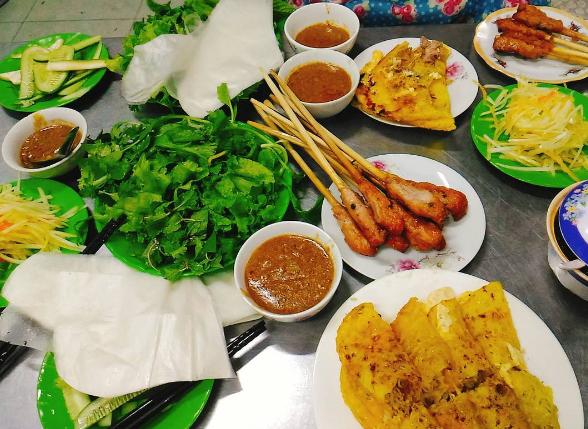 Bánh xèo, nem lụi, - quán ăn ngon Đà Nẵng
